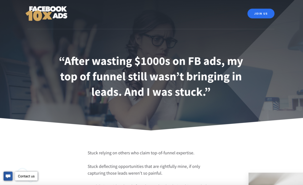 10x Facebook Ads by Copyhackers