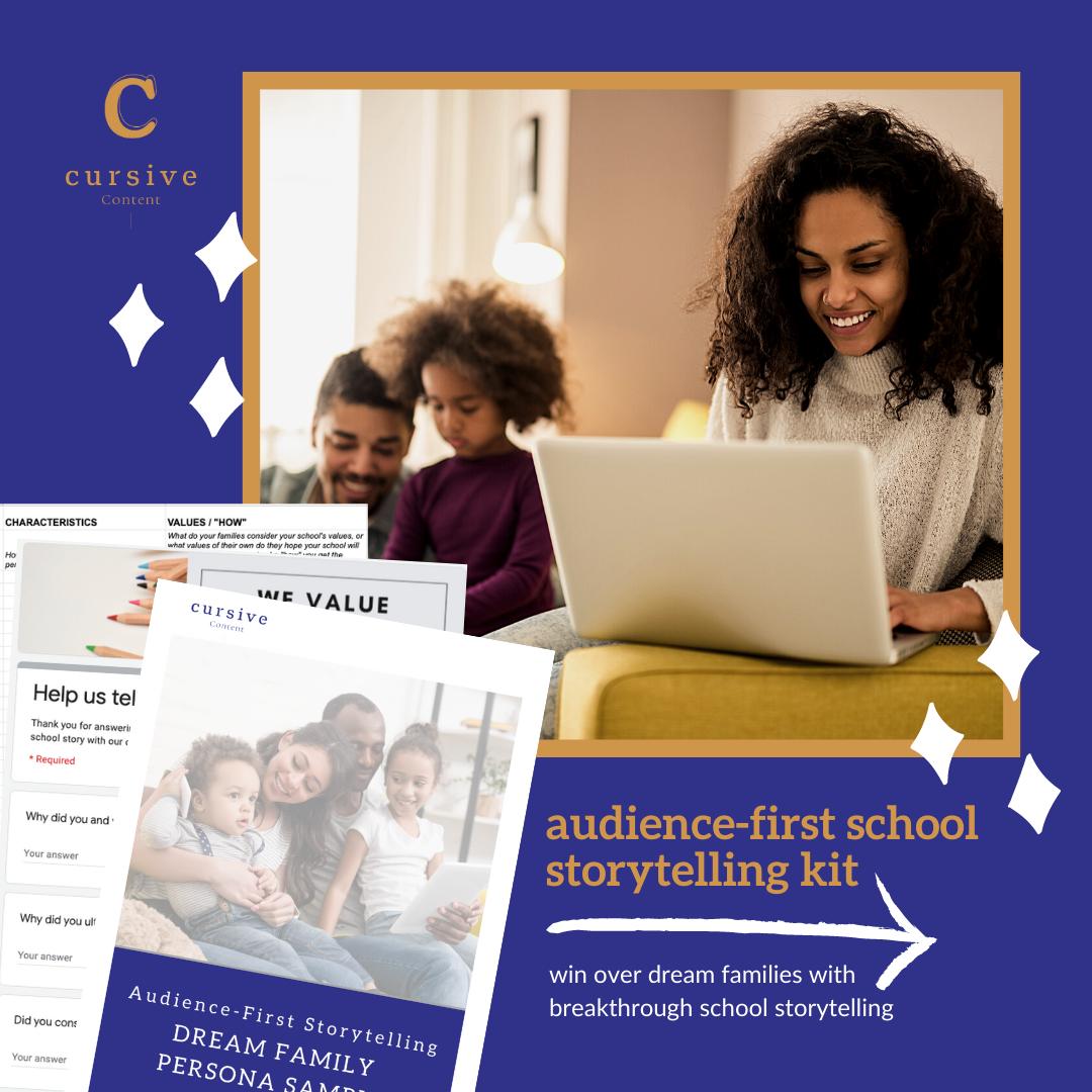 Audience-First School Storytelling Kit