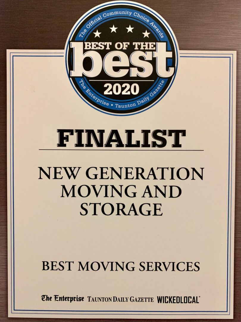 New Generation Moving & Storage