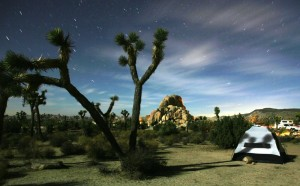 Camping at Holotropic Breathwork in the Desert