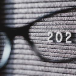 lens focused on 2021
