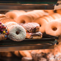 assortment choice of donuts