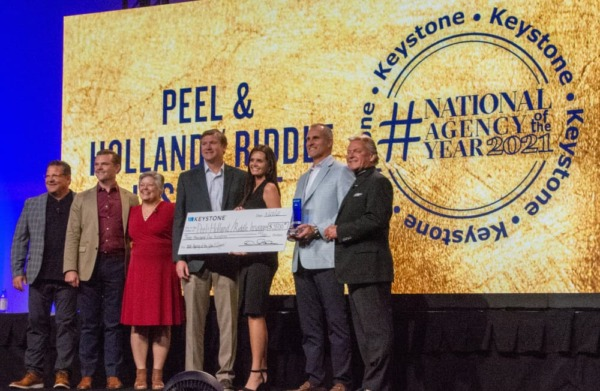 Keystone National Agency of the Year 2021 cash prize