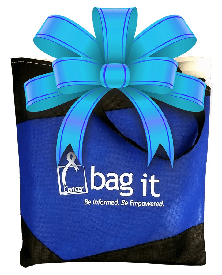Gifting Cancer Resource Bags – Bag It