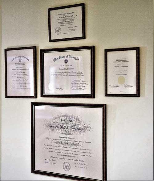 Certified- Augusta Dental Arts