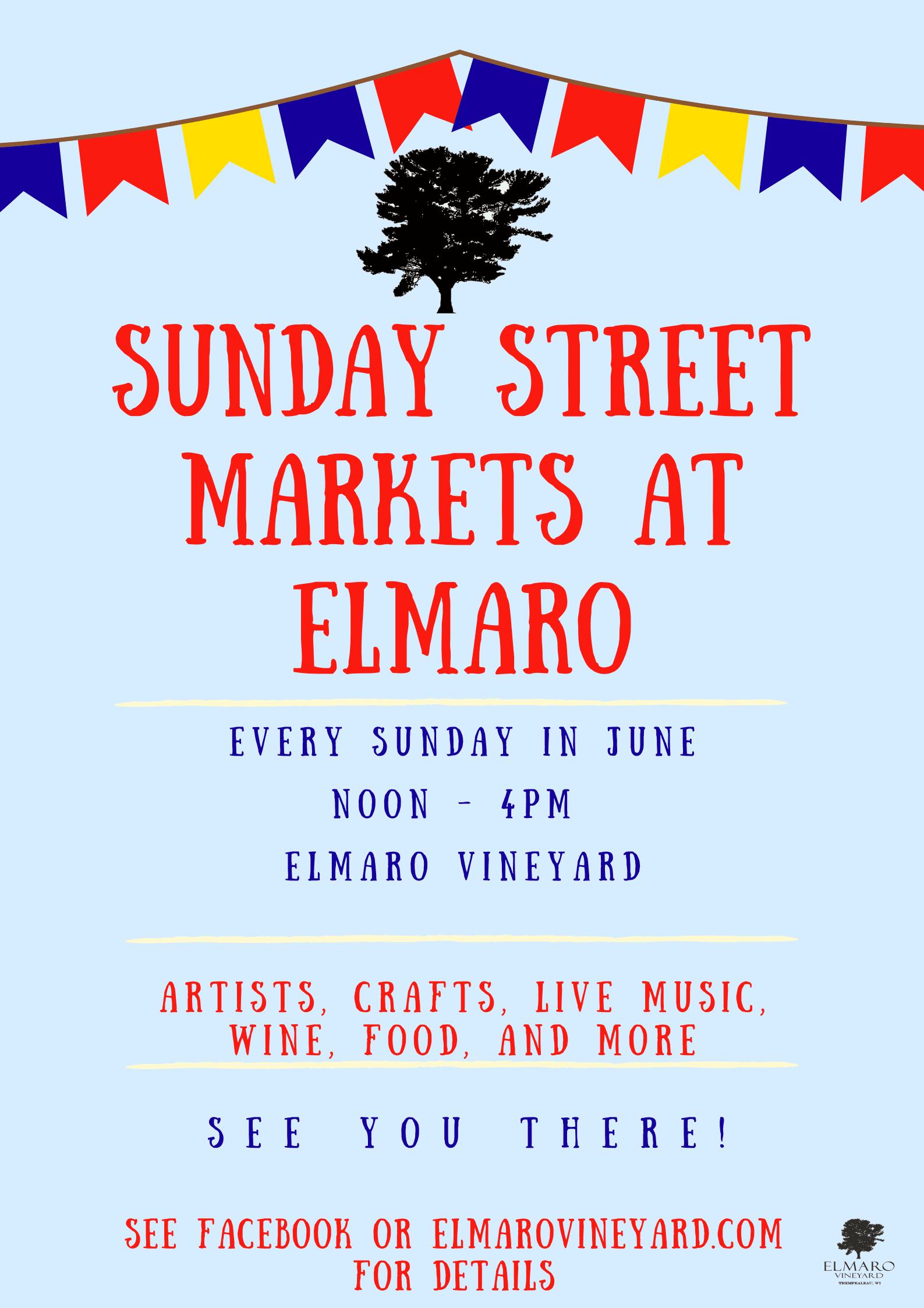 Street Market Sundays at Elmaro