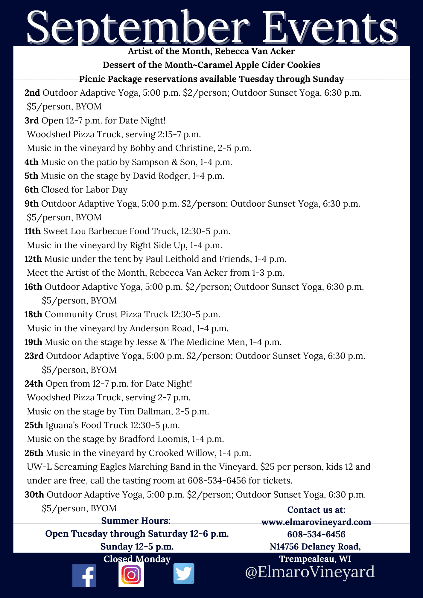 June 2021 Events (1)