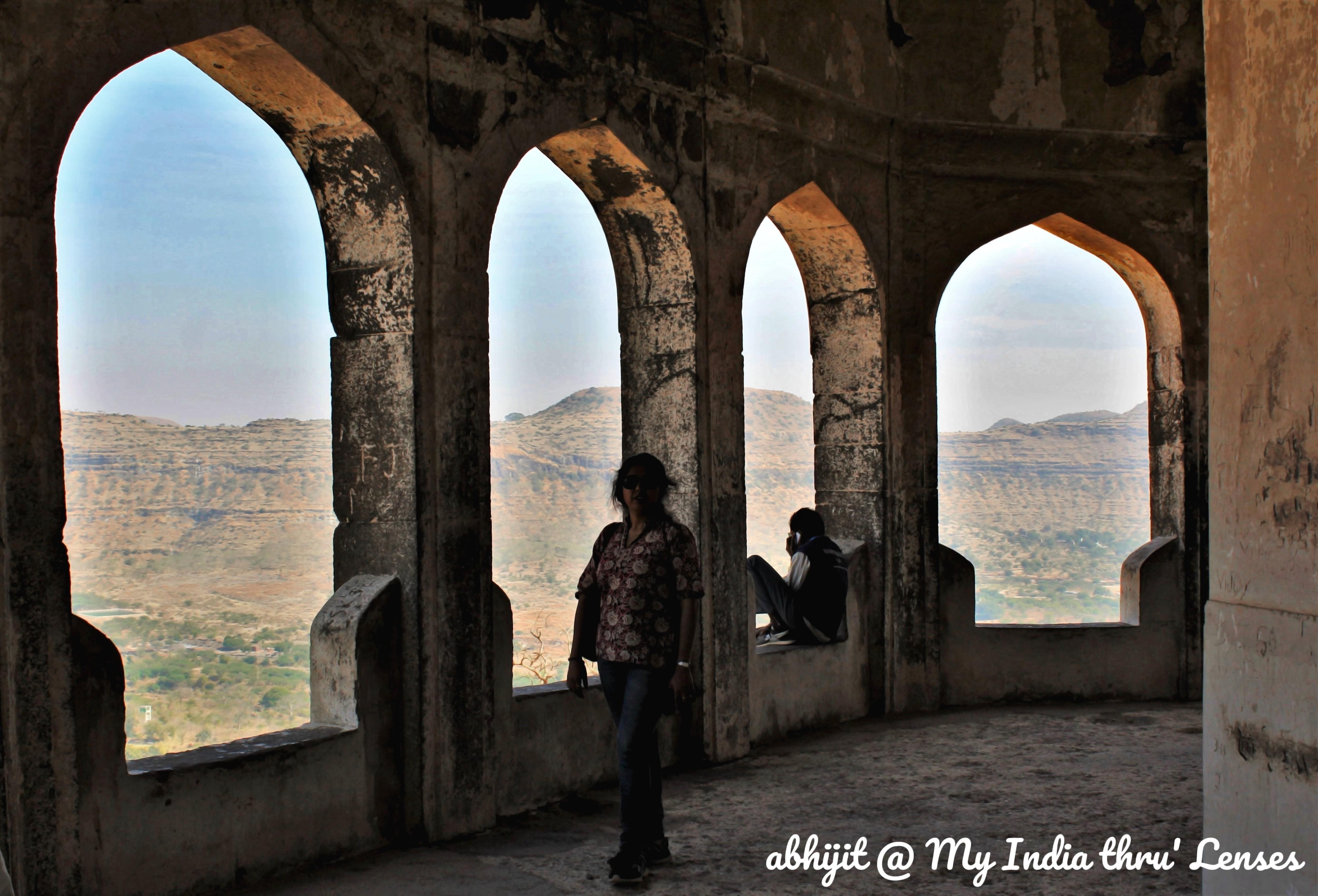 Inside the Baradari