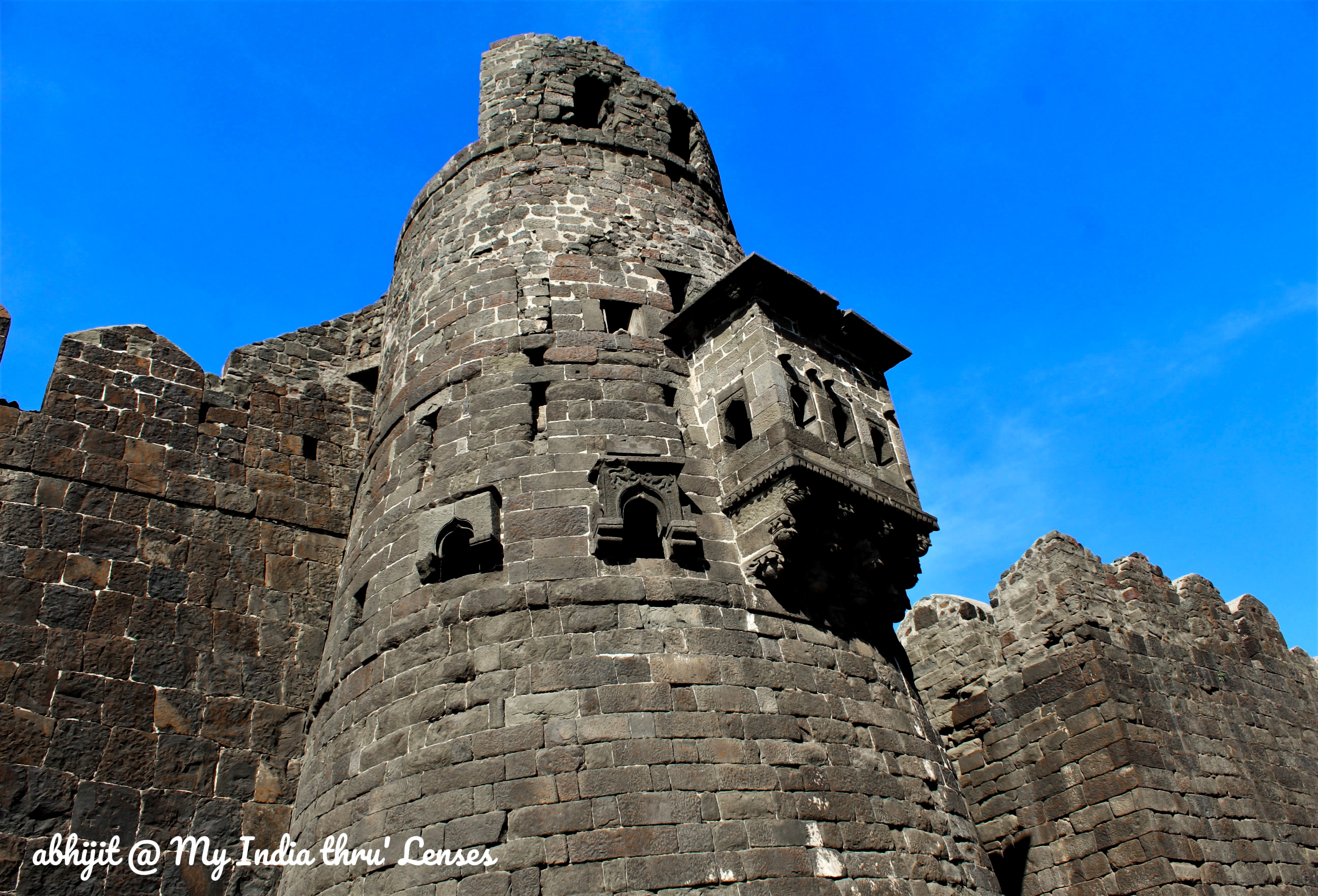 A Watch Tower at Daulatabad Fort