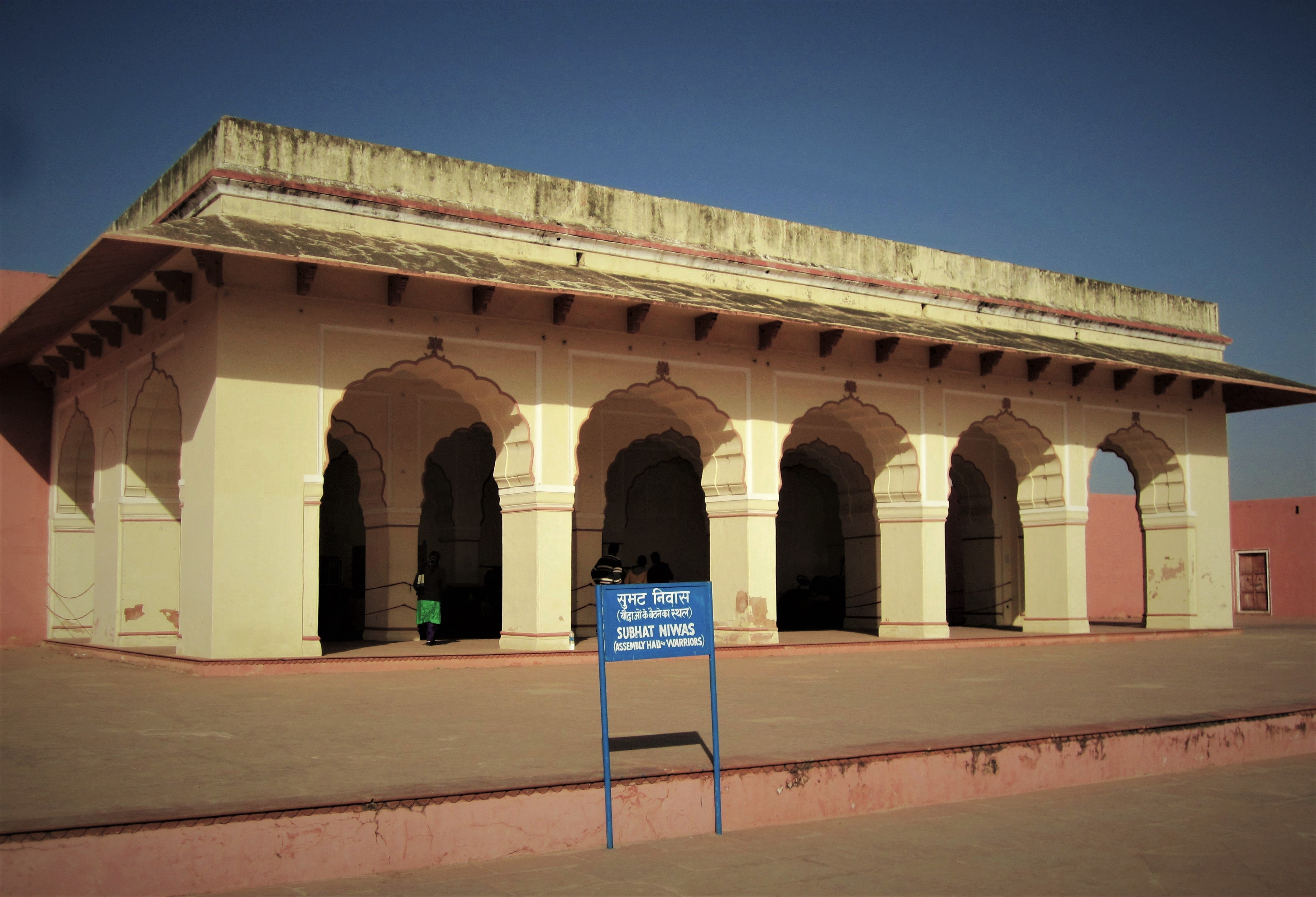 Few Structures Inside the Jaigarh Fort