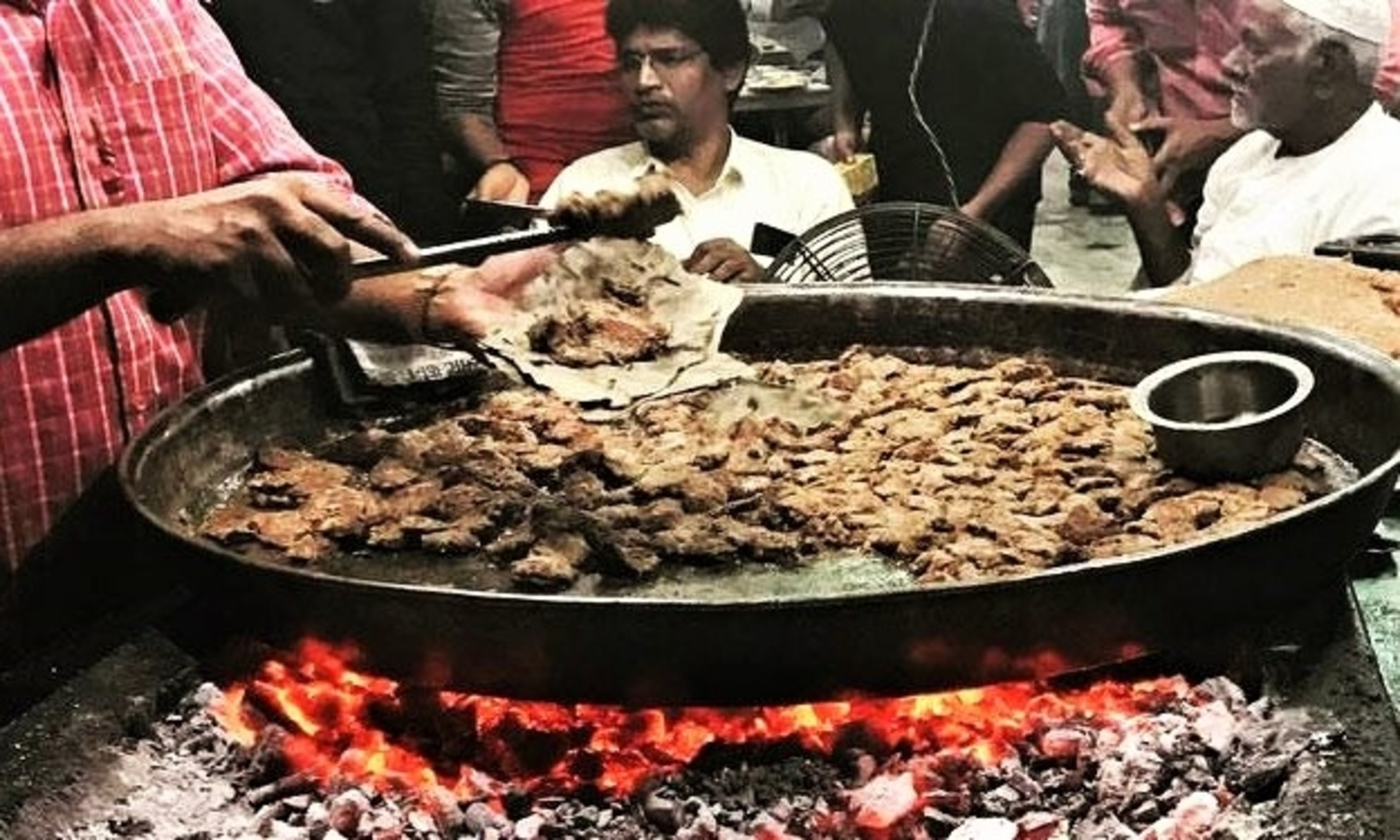 Galouti Kabab - prepared in batches