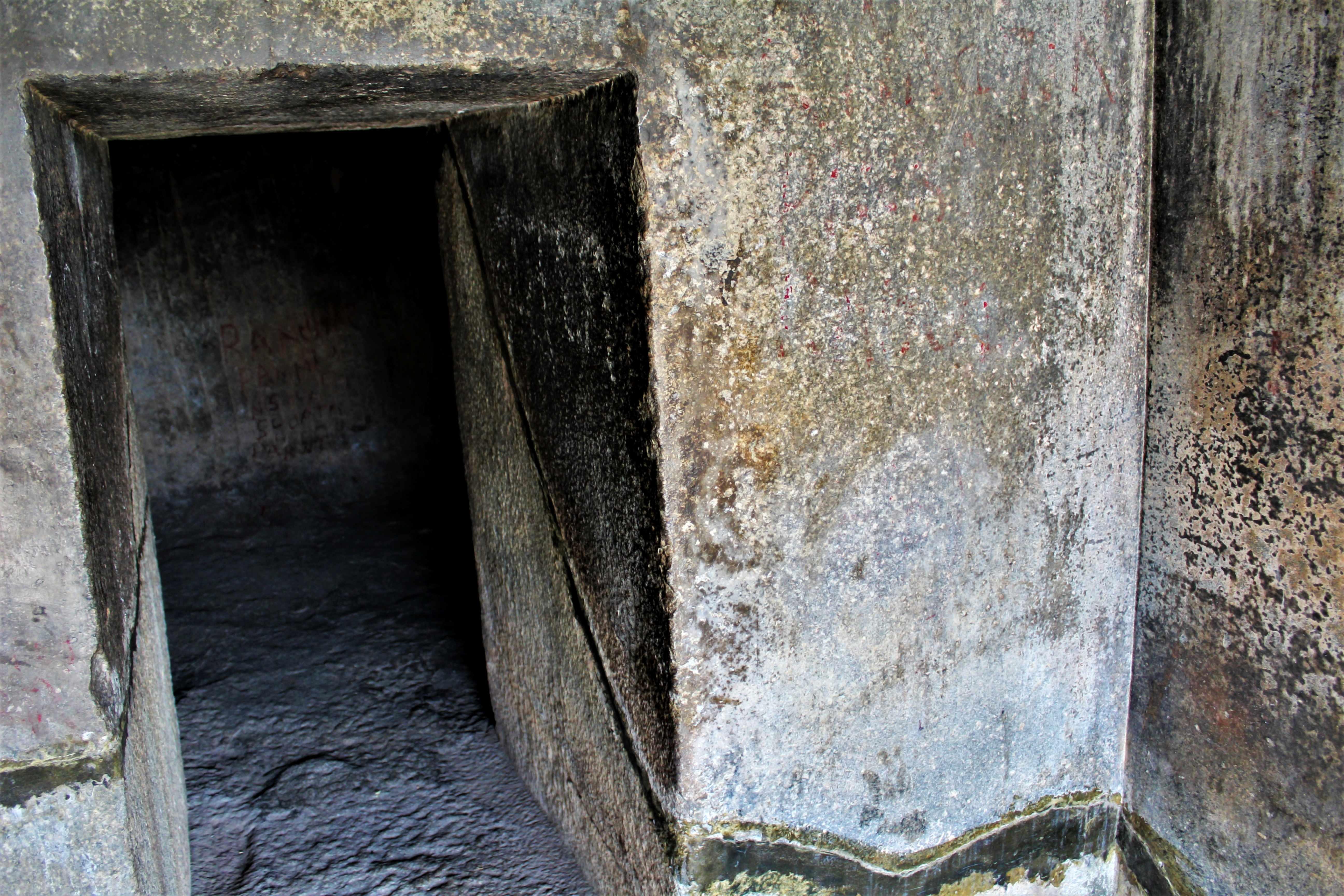 Inside Vishwakarma Cave