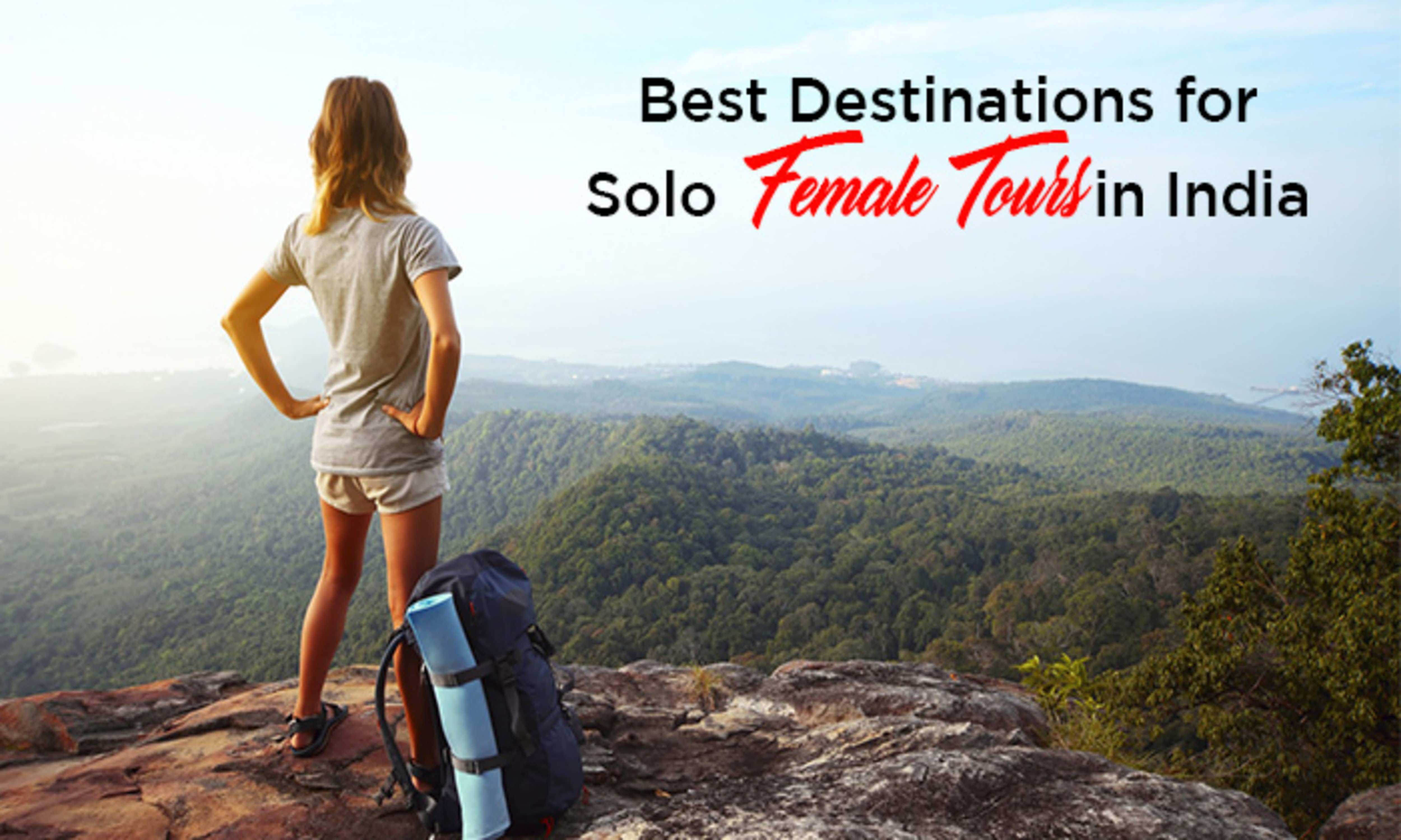 Solo female travel packages