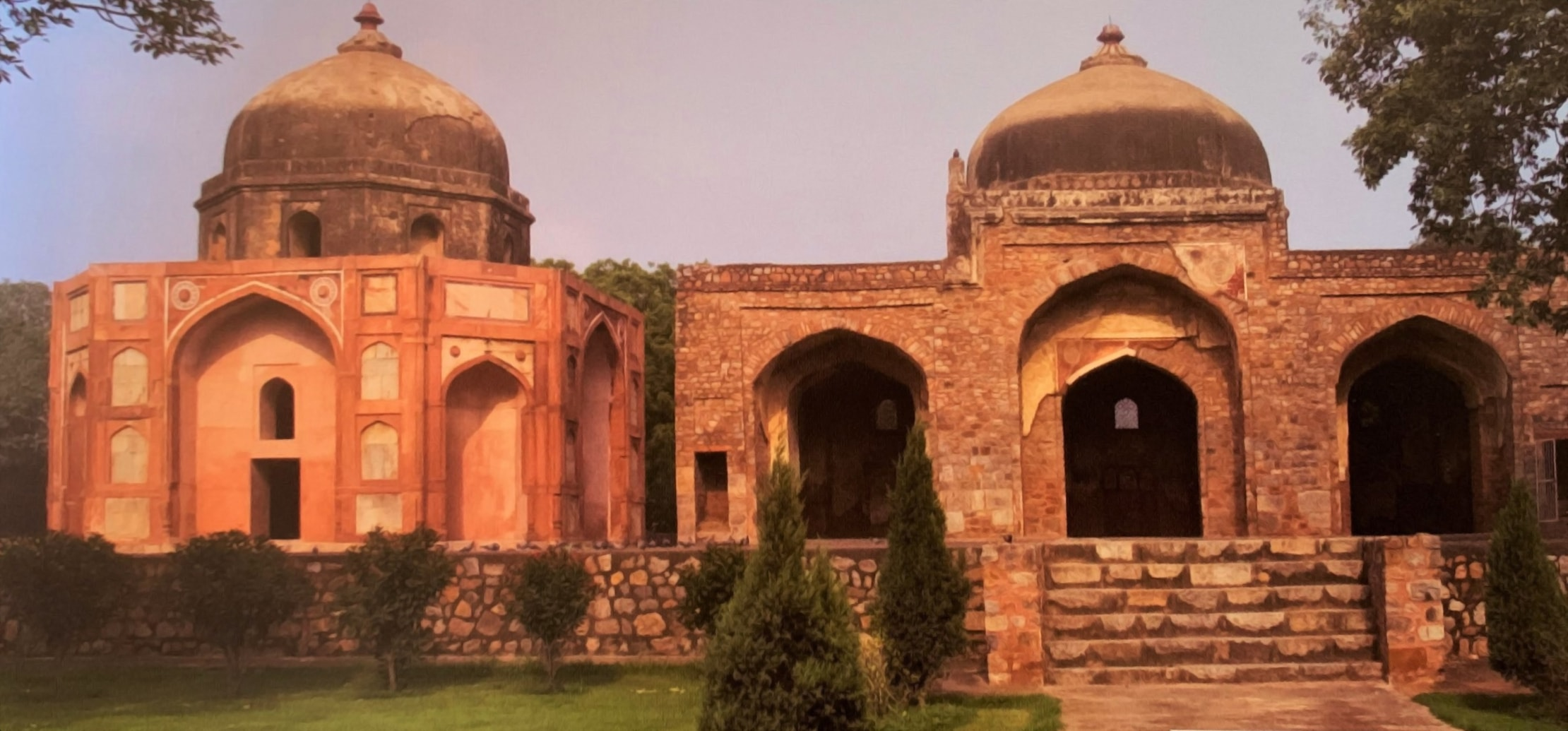 Afsarwala's Mosque & Tomb (PC - Great Monuments of India)