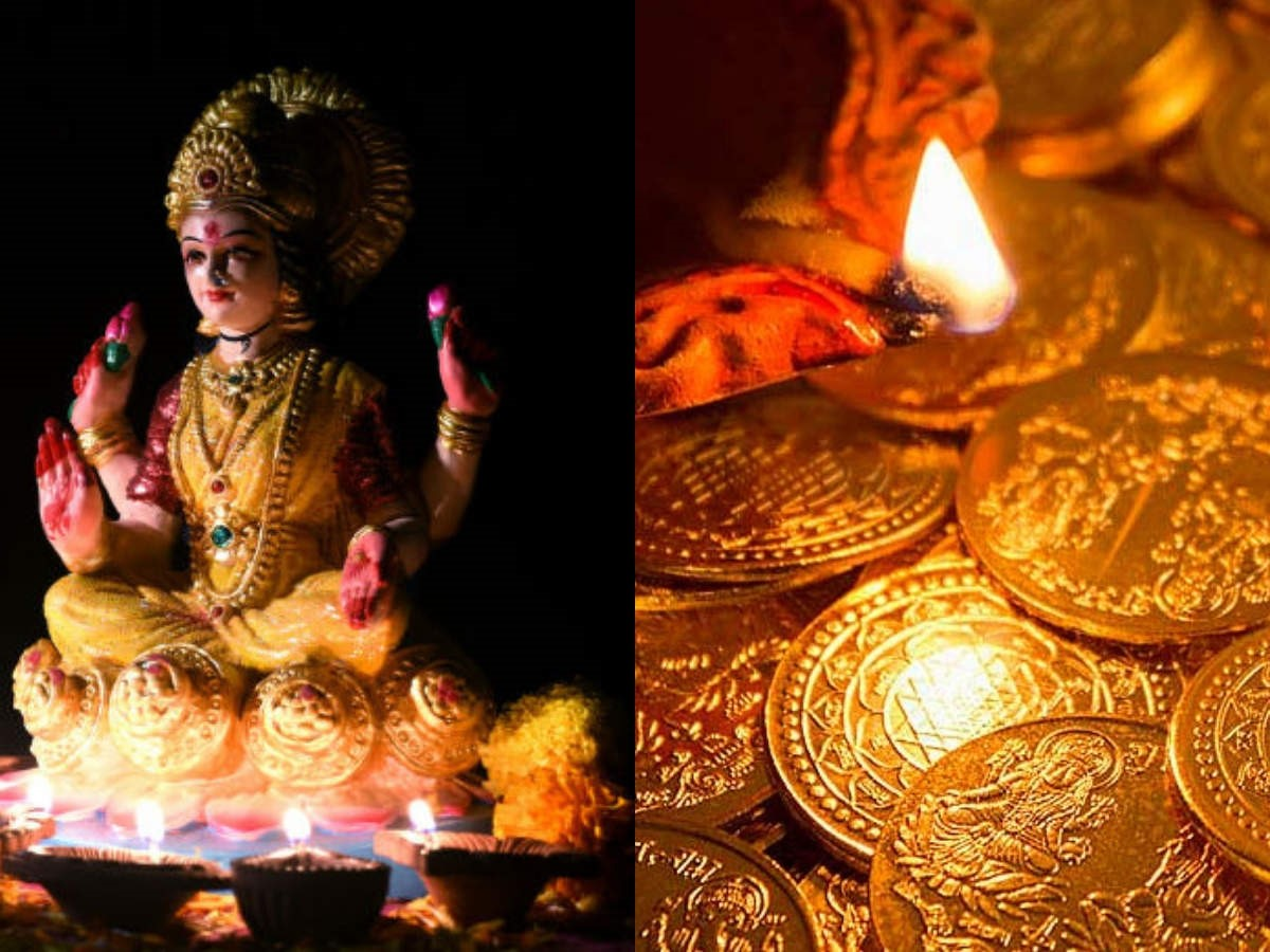 The auspicious occasion of Dhanteras