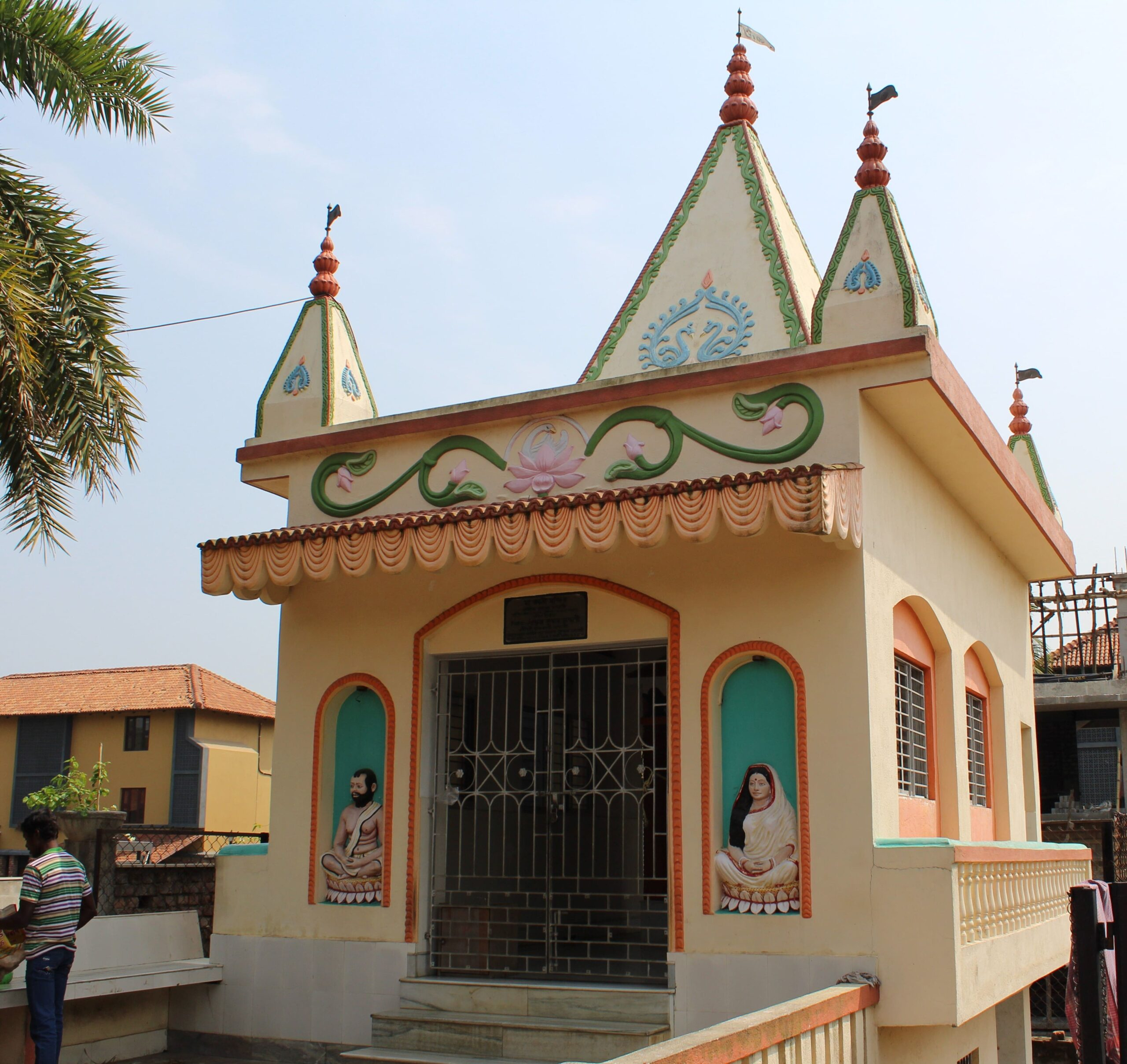 A Temple outside the Resort premises