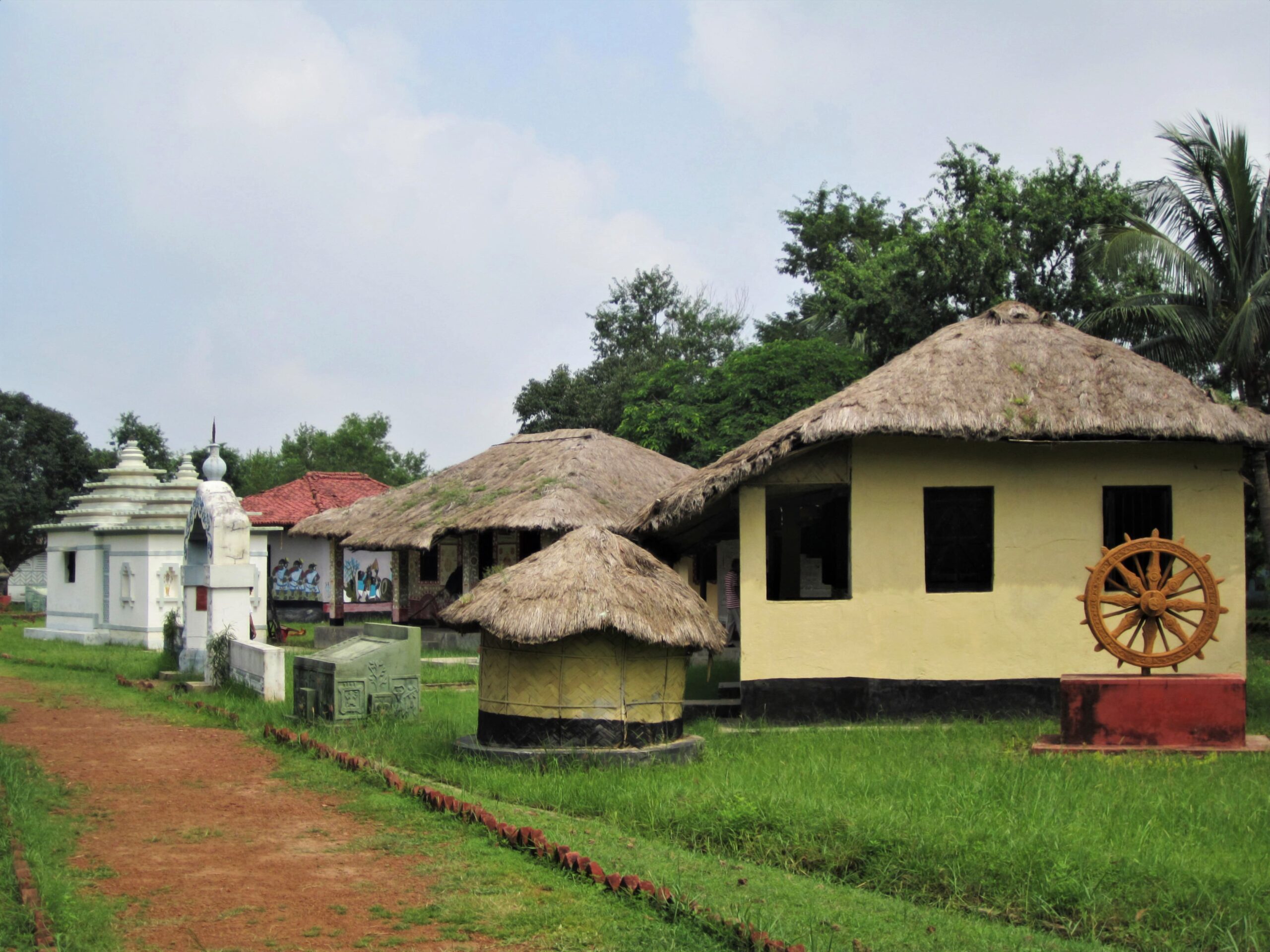 The Srijani Shilpagram Complex