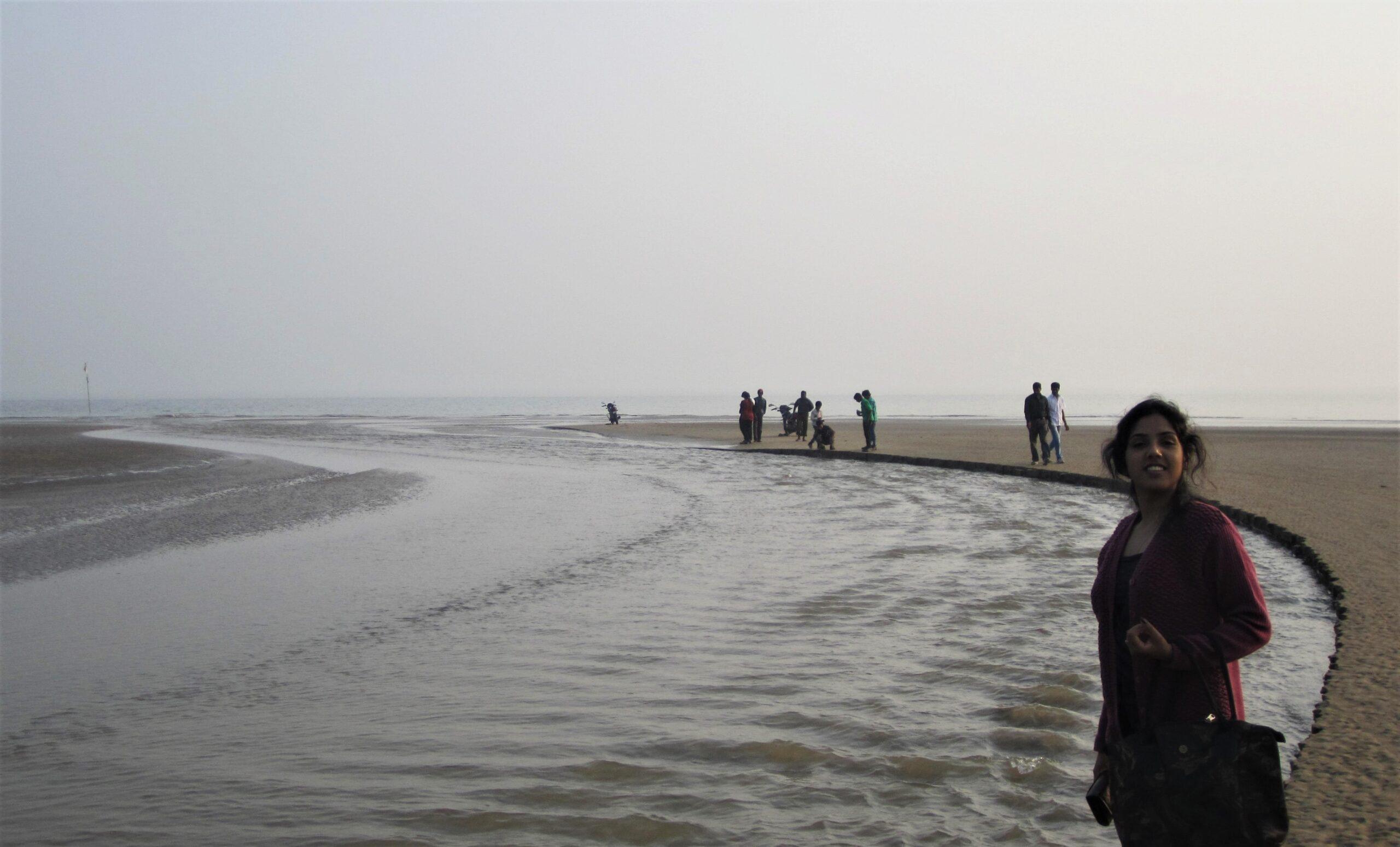 Estuary of the river Subarnarekha