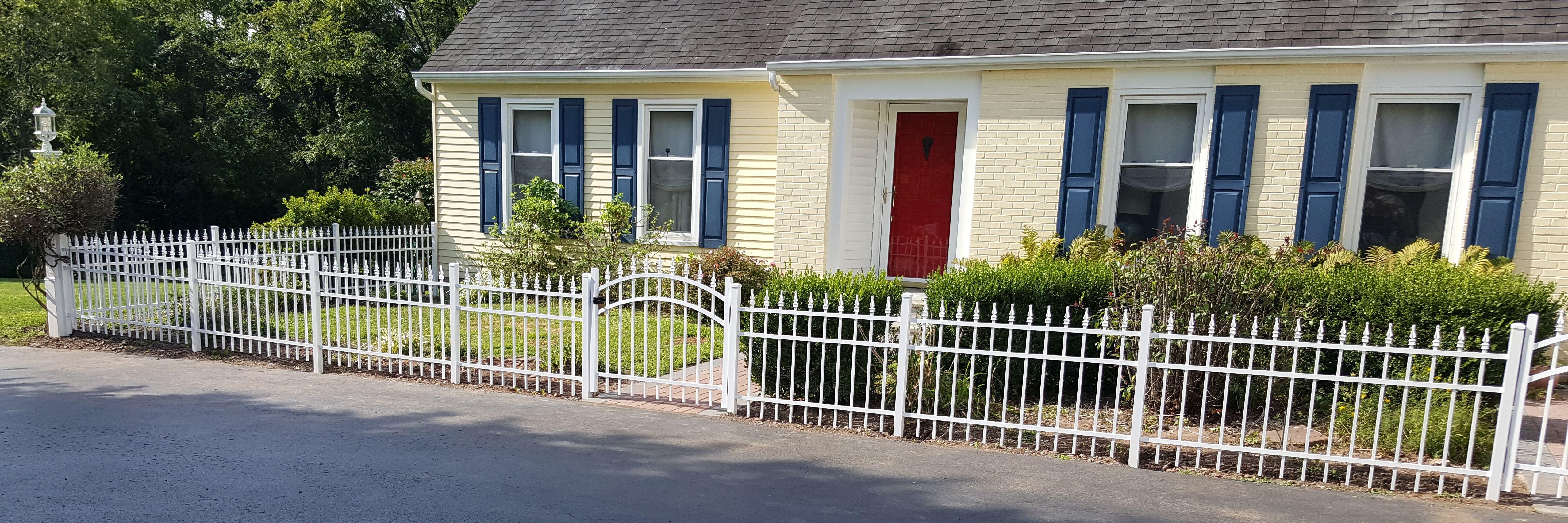 Aluminum Fence Install