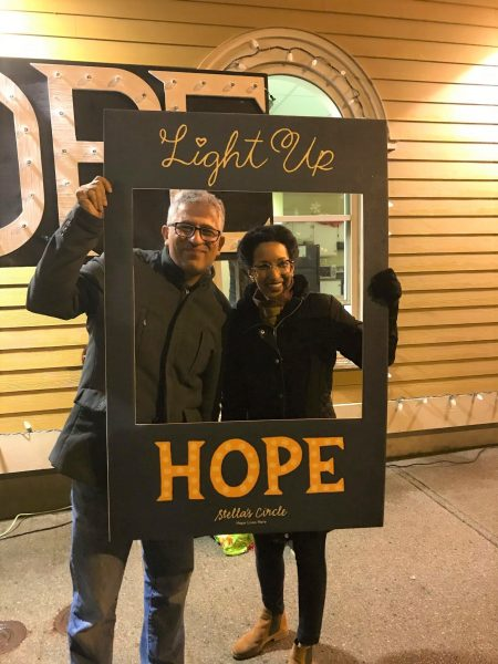 Light Up Hope is one of Stella's Circle signature fundraising events