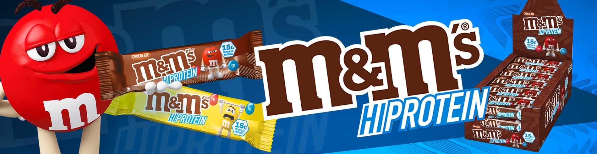 M & Ms Hi Protein