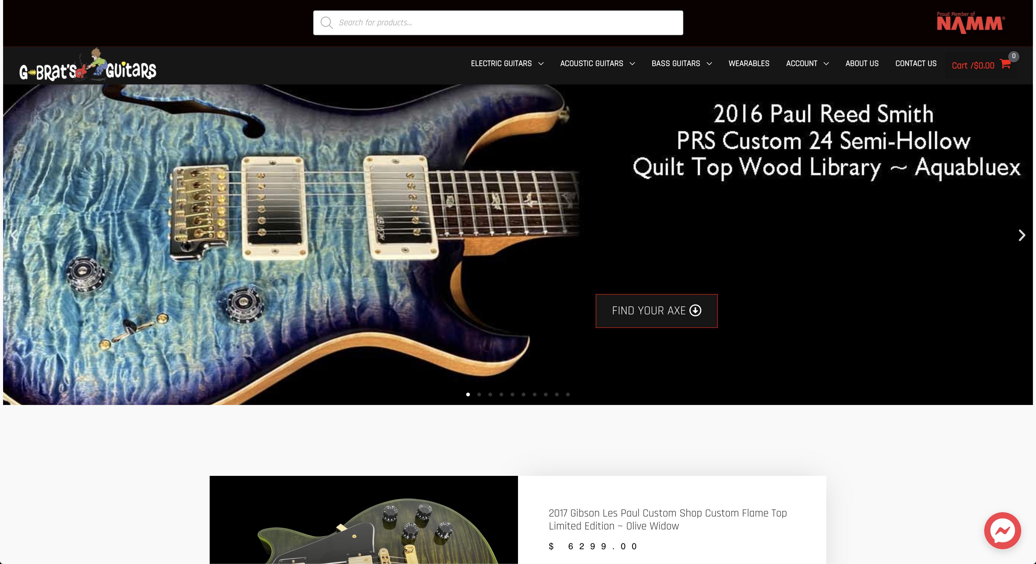 gbrats guitars