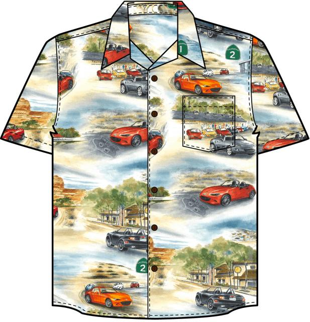 Miata Shirt Concept