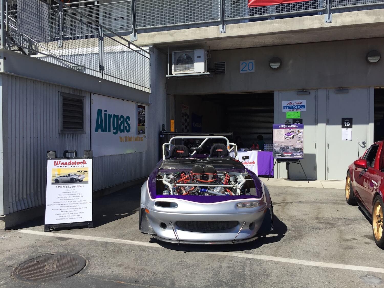 Airgas Outdoor car