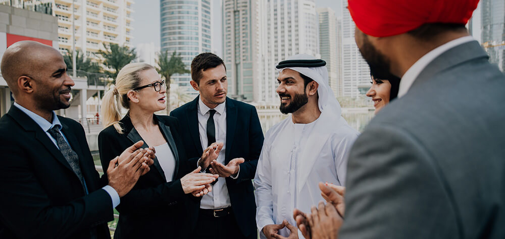 Arab applauded by collegues
