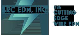 Cutting Edge Wire EDM | ARC EDM, Inc. Logo