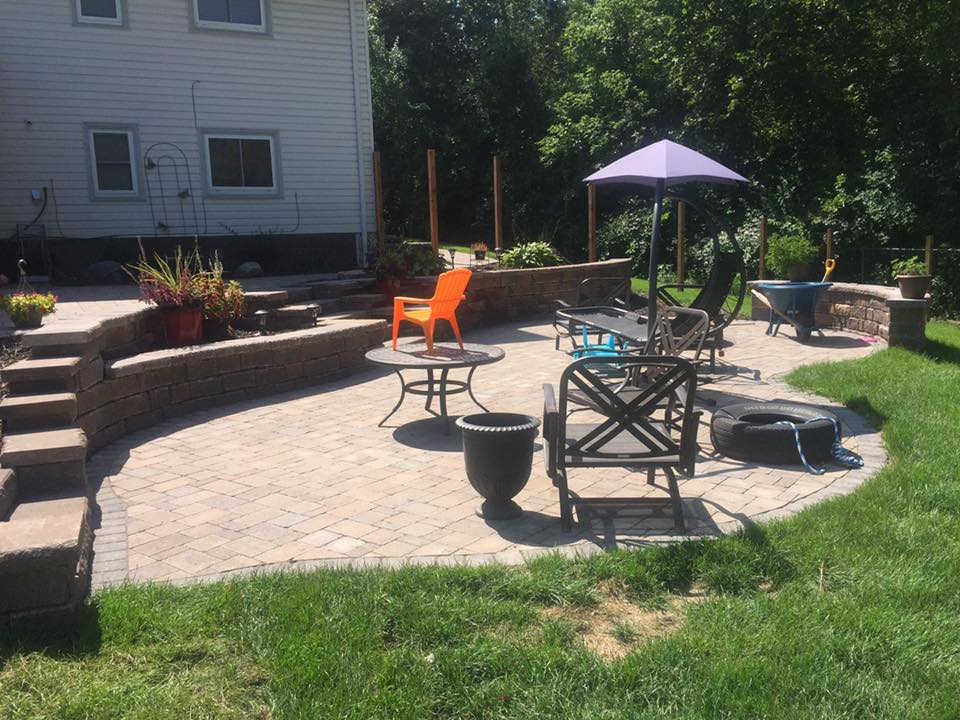 Outdoor Living Paver Patio in Twin Cities
