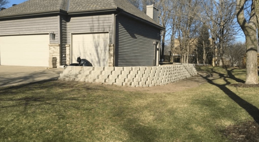 north metro retaining wall project