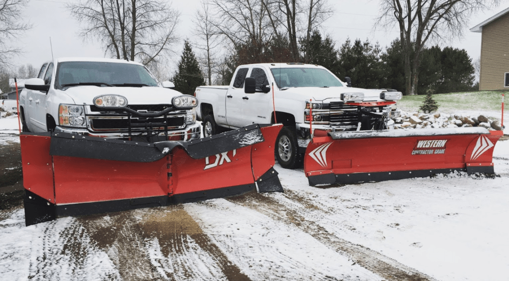 residential snow plowing