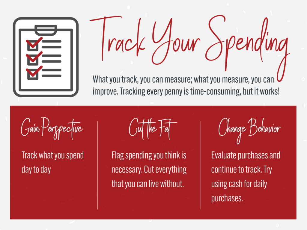 Home Budget Tip #1: Track Your Spending