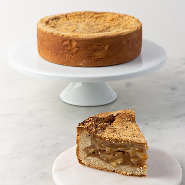 My Most Favorite Food Deep Dish Apple Crumb Cake