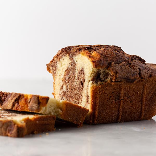 My Most Favorite Food Marble Loaf Cake