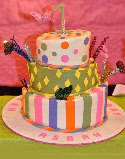 Specialty Cake 3 Tier Whimsical