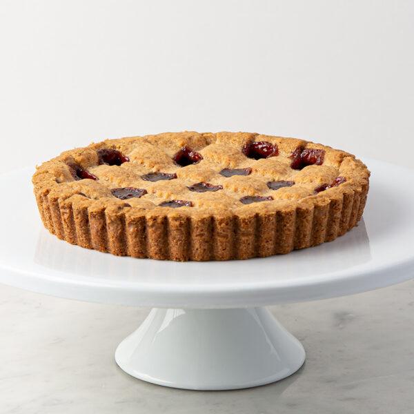 My Most Favorite Food Raspberry Linzer Tart