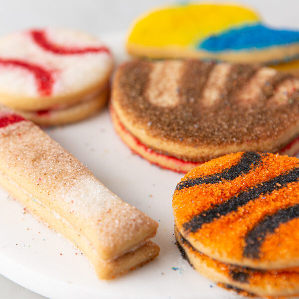My Most Favorite Food Sports Sugar Cookie Assortment