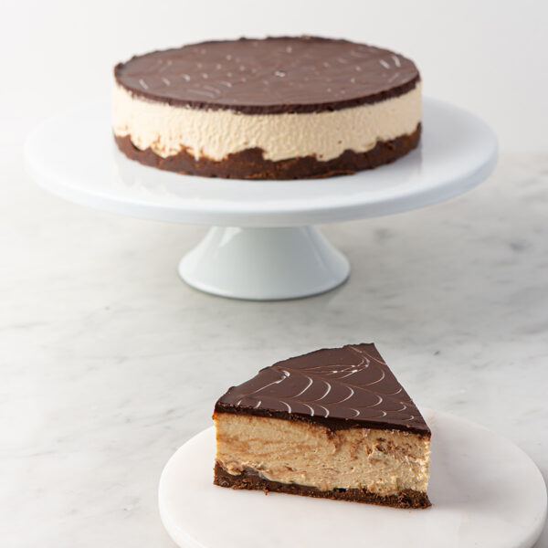 My most favorite Peanut Butter Mousse Cake