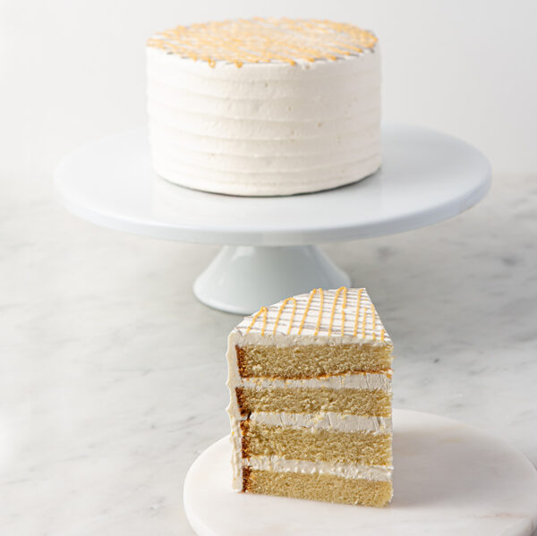 My most favorite White Out Cake