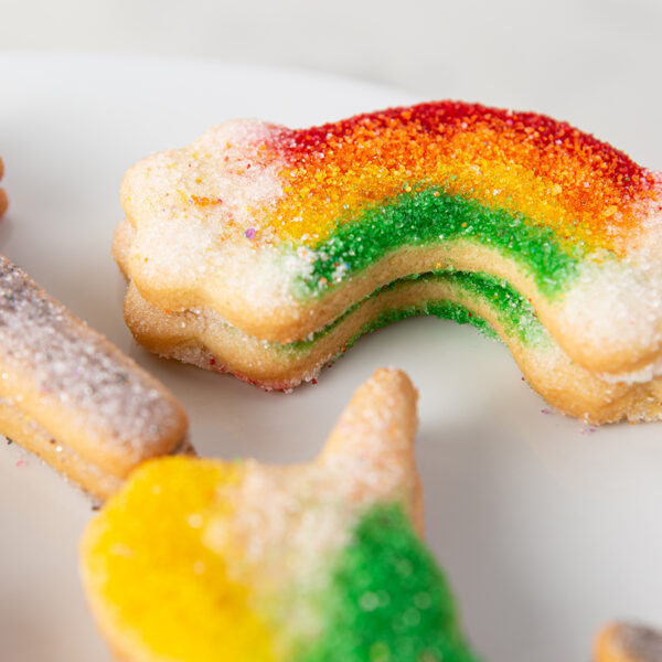 My Most Favorite Food Rainbow and Unicorn Sugar Cookie Assortment