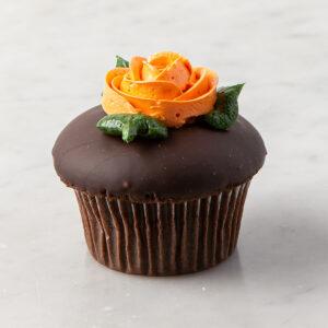 My Most Favorite Rose Design Cupcake