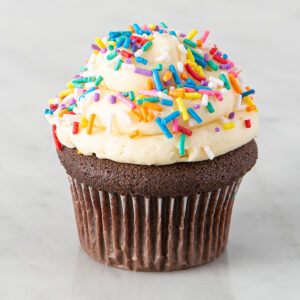 My Most Favorite Sprinkle Design Cupcake Chocolate