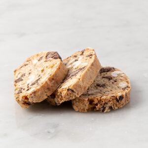 My most favorite Chocolate Hazelnut Biscotti