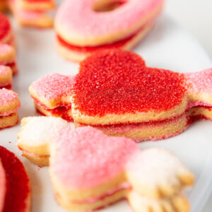 My Most Favorite Food Love Sugar Cookie Assortment