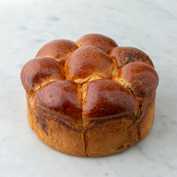 My Most Favorite Round Chocolate Chip Pull Challah