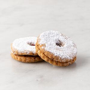 My most favorite Raspberry Linzer Tart Cookie