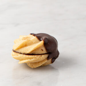 My most favorite Viennese Dipped in Chocolate Cookie