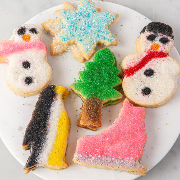 My Most Favorite Food Winter Sugar Cookie Assortment